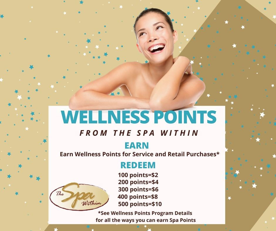 Earn Wellness Points from The Spa Within at The Lodge on Lake Detroit
