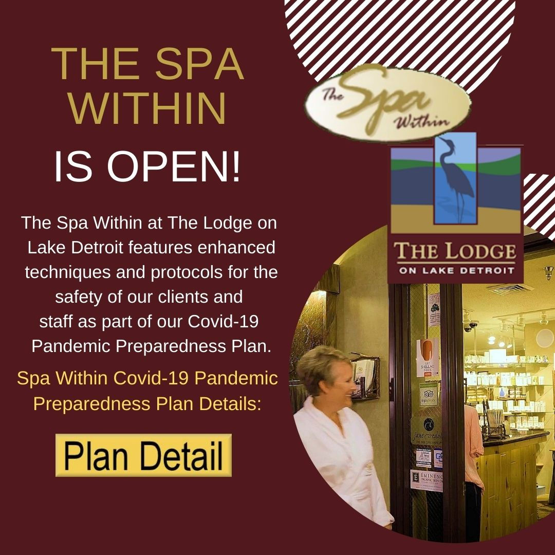 The Spa Within is Open!